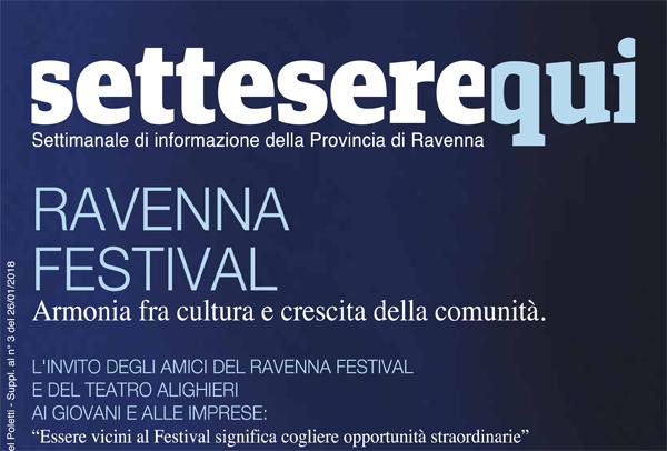 Gli Amici del Festival e del Teatro Alighieri: un progetto per la città e per il paese.